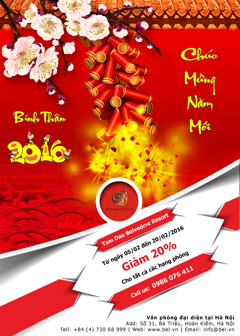 Promotion - Happy New Year 2016
